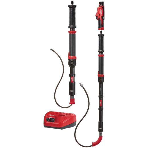 Milwaukee M12 Trapsnake 12 Volt Lithium-Ion 2-Tool Cordless Drain Auger Kit
