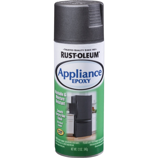 Rust-Oleum 12 Oz. Black Specialty Appliance Epoxy